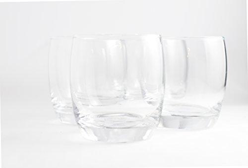 - Consol Glasgow Glassware 8 pc set of 11oz Tumbler Whiskey Drinking Glasses (8, Tumbler)
