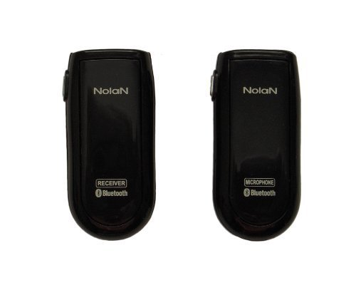 Nolan MICRX Bluetooth Wireless Microphone and Receiver Sets,