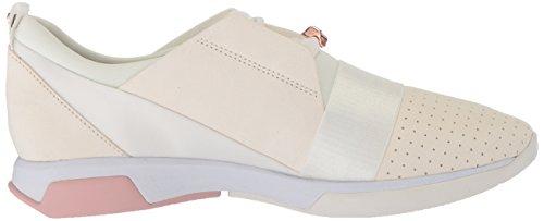 Sneaker Cepa Da Donna Panettiere Ted Bianco / Camoscio Oro Rosa