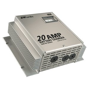 Charles Industries 5000 Series C-Charger 220VAC 24V - 20A/3 Bank 9C-24205SPI-A Battery Charger 20a 2 Banks