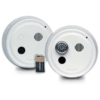 Gentex 9223HF Smoke Alarm, 220V Hardwired Interconnectable Photoelectric w/9V Battery Backup, T3