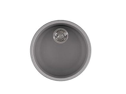 Delicieux Franke RBG110SHG Rotondo Granite Round Bowl Sink