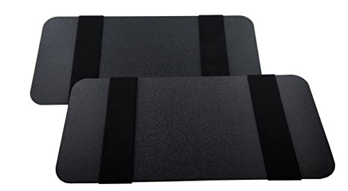Visormates Side Window Sun Visor Extenders 5x12 Black