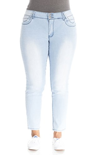 UPC 098713095550 Angels Jeans ABM00193U-A954-20 Angels Jeans Plus ...