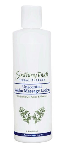 Soothing Touch W67340S Jojoba Unscented Lotion, 8-Ounce