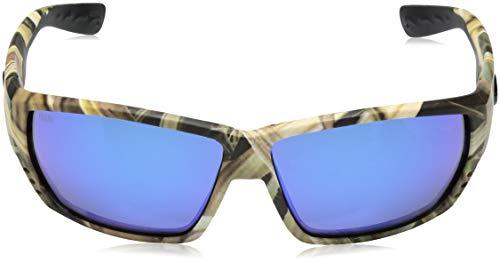 Mirror 580 Blue Mar Tuna Alley Glass Lens Sunglasses Del Costa wB0qFYx