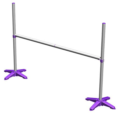 Jump Start Practice Dog Agility Jump (Purple) by J&J Dog Supplies