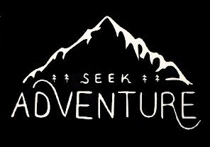 - Seek Adventure Wanderlust Decal Vinyl Sticker|Cars Trucks Vans Walls Laptop| White |7.5 x 4.5 in|CCI1321