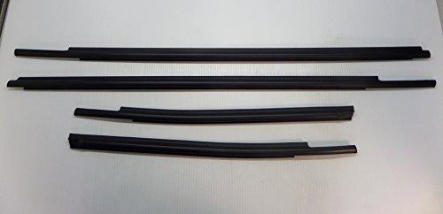 Toyota Tundra Double Cab 2007 - 2015 4pc Exterior Weatherstrip Belt Molding Set Genuine OE OEM