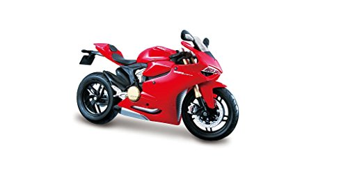 12 Red Diecast Car - Maisto Ducati 1199 Panigale Motorcycle 1:12 Scale Model