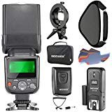 Neewer NW-670 TTL Flash Speedlite Kit for Canon DSLR Cameras, Includes Flash Light