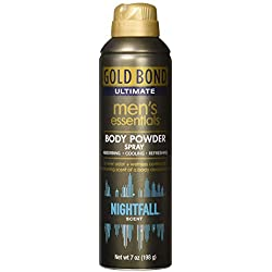 Gold Bond Ultimate Men's Essential Body Powder, Nightfall Scent, 7 Ounces