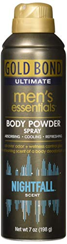 Gold Bond Ultimate Men's Essential Body Powder, Nightfall Scent, 7 - Bond Powder Gold Ingredients