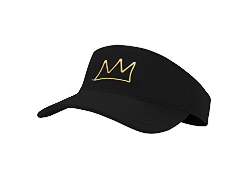 Jinniee Sun Visosr Hast Classic Unisex 100% Cotton Cool Sporting Visior with Small Embroidery - Best Visior for Running, Workouts and Outdoor Activities (Crown Hat)