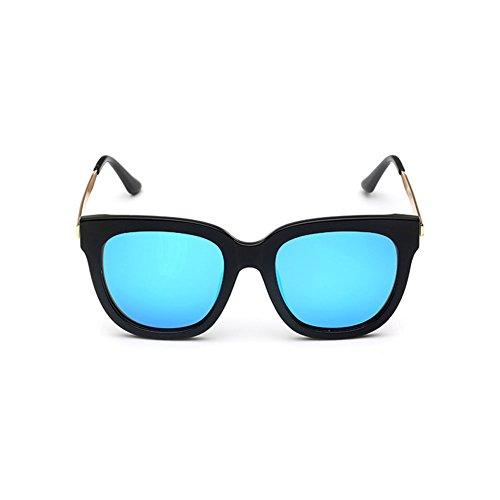 DT Color 2 Hombres Cara de Que de de Gafas Polarizer Sol Sol Redondas conducen los Retro Gafas la de 1gTr14xw