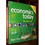 Economics Today : With Economics in Action 2001-2002 Version, Miller, Roger LeRoy, 0321278860