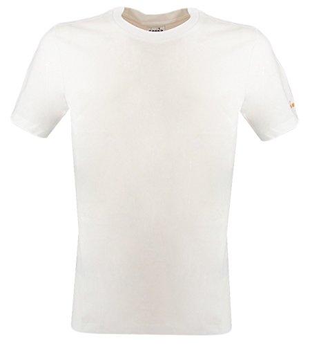 - Diadora Classic T Shirt 80BIANCO T-Shirt In cotone Diadora Bianco M Man