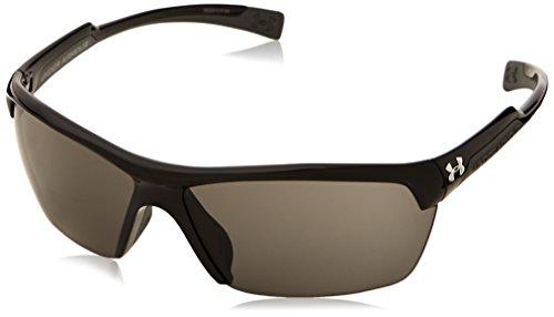 Under Armour Velocity Sport Sunglasses, Shiny Black Frame/Gray Lens, one - Sunglasses Velocity