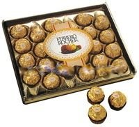 Diamond Rocher Ferrero (Ferrero Rocher Holiday Gift Box 24 Pralines 10.6oz)
