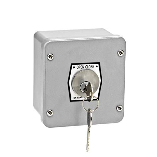 (MMTC 1KX Nema 4 Exterior Tamperproof Open-Close Key Switch Surface Mount)