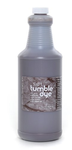 Sew Easy Industries Tumble-Dye Bottle, 1-Quart, Walnut by Sew Easy Industries