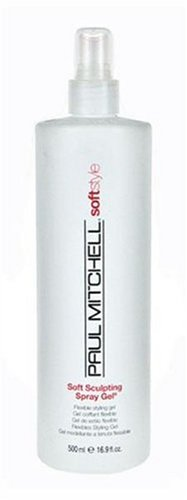 Paul Mitchell Soft Sculpting Spray Gel, 16.9-Ounces Soft Flexible Hold Conditioning Gel