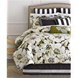 Martha Stewart Collection Bedding, Poppy Floral 4 Piece Comforter Set - (Martha Stewart Poppy)