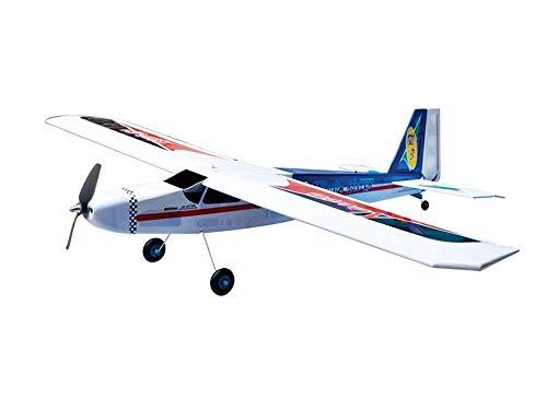 Electric Arf Planes (VMAR Nouvo 1300EP Electric Plane Kit - Blue Power Module Motor Mount Main 50mm and Tailwheel 25mm ARF Scale Nouvor)