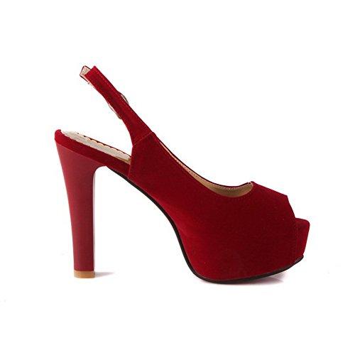 pour Rouge Sandales femme BalaMasa pour BalaMasa Sandales femme pour Sandales femme Rouge Rouge pour Sandales BalaMasa BalaMasa fwd1q1t