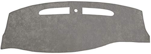Seat Covers Unlimited Lincoln Town Car Dash Cover Mat Pad - Fits 2003-2007 (Custom Suede, Gray)
