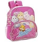 Zhu Zhu Pets Friends 14″ Backpack School Bag (Pink), Bags Central