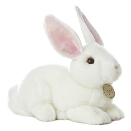 "Aurora World Miyoni Bunny 10"" Plush, White"