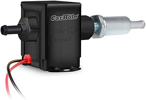 primming Fuel Transfer Pump Inline Electric Fuel Pump Universal DC 12V Low Pressure 4-7psi Petrol Diesel RH-EP014 Self