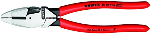 Knipex 09 01 240 SBA 9.5-Inch Ultra-High Leverage Lineman's Pliers