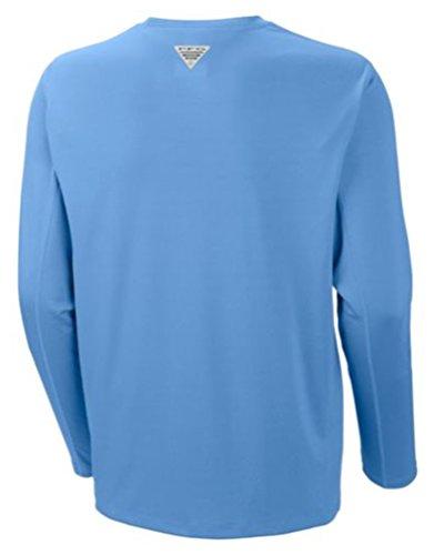 Columbia Mens PFG Zero Rules II Polo Top, Mens PFG Zero Rules Long Sleeve Top, White Cap, 3X by Columbia (Image #1)