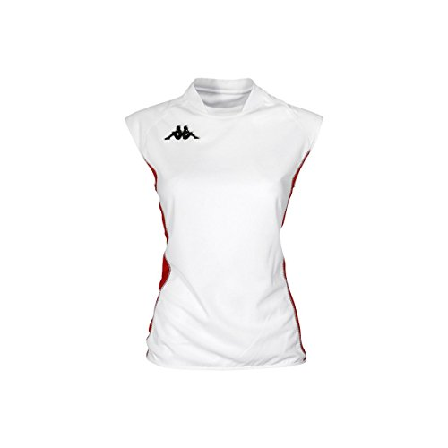 Camisa Juego - Kappa4volley Lady Clone White-Red