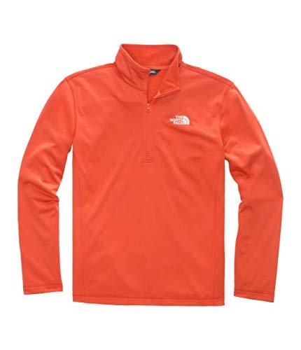 The North Face Men's Tech Glacier ¼ Zip, Zion Orange, Size XL ()