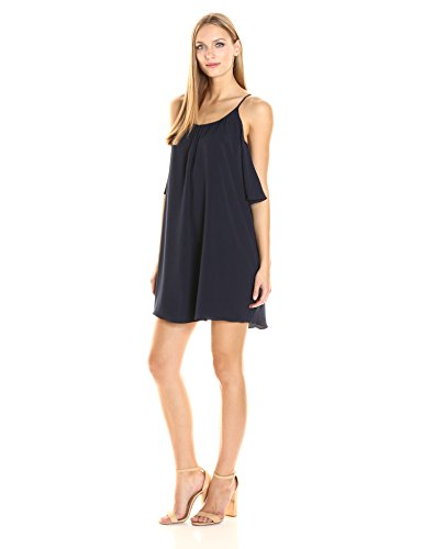 French Plains Dress Nocturnal Shoulder Cold Women's Connection Polly trwqSrH1