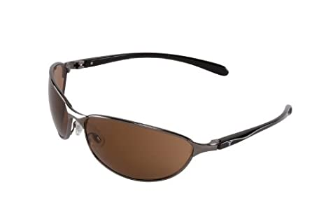 encon wraparound veratti 302 safety glasses espresso lens metal frame pack of 1