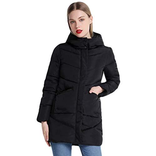 Nat terry Women's Winter Down Coat Fashion Streetwear Parka Female Casual Outwear Coats Jacket ()