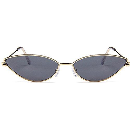 Femenino KLXEB Gafas Para Mujer Sombras De Gafas Azul Negro Pequeño Sol Sol De Vintage Mujeres Negro Rojo r0BprxPq