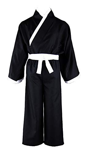 Chong Seng CHIUS Cosplay Costume Kuchiki Rukia Shinigami Black Female Kimono Outfit Ver 3 -
