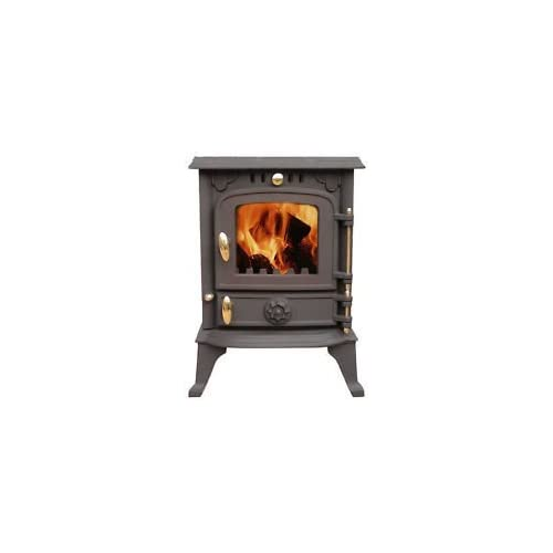 """Sale This Month Only 50% Off """"Cambridge"""" 4 kw """"Clean Burn"""" Wood Burning Multifuel Stove 2014 Model …"""