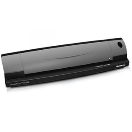 Ambir Technology DS490-AS ImageScan Pro 490i - Sheetfed scanner - 8.5 in x 14.0 in - 600 dpi - USB 2.0 by Ambir Technology