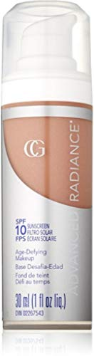 CoverGirl Advanced Radiance Age-Defying Makeup, Creamy Beige 150 , 1 oz Pack of 5