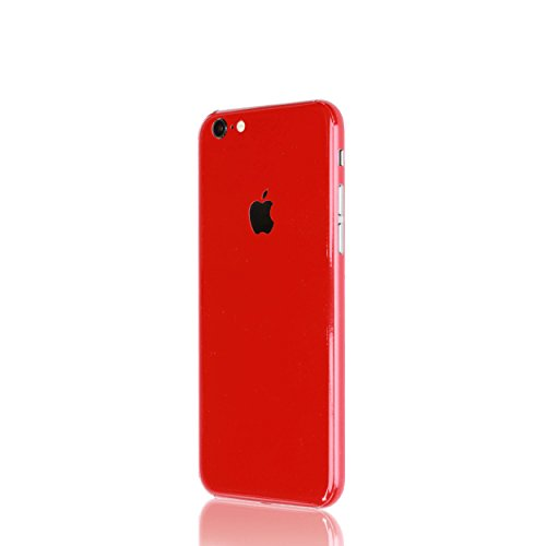 AppSkins Rückseite iPhone 6s Full Cover - Brilliant Gloss Red