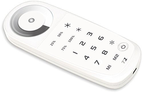 Gray scale 8 zone remote T1 (pairs with LEDCT-T3-CV) by Wired4Signs USA