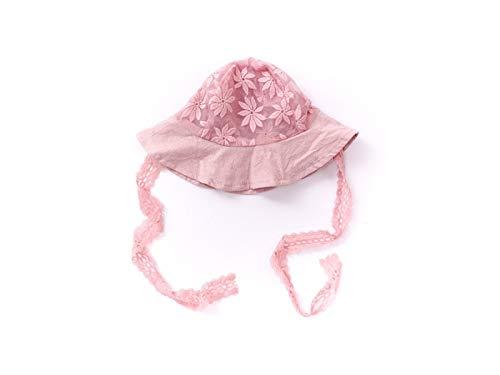 FERFERFERWON Casquette Enfant Dentelle bébé Respirant Chapeau de Princesse  Infantile Chapeau de Protection Chapeau Nouveau-né pour 2-18 Mois (Gris)  Chapeaux ... 4faf4685d94