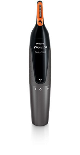 PHILIPS Norelco Ear & Nose Trimmer with Advanced Protec-Tube Technology & 1/8