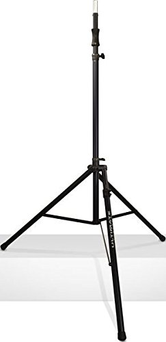 Ultimate Support TS-110BL Air-Powered Series Lift-assist Aluminum Tripod Speaker Stand - Xtra Tall & Includes Leveling Leg by Ultimate Support